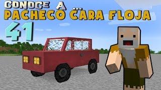 Pacheco cara Floja 41 | COMO HACER UN COCHE en Minecraft thumbnail