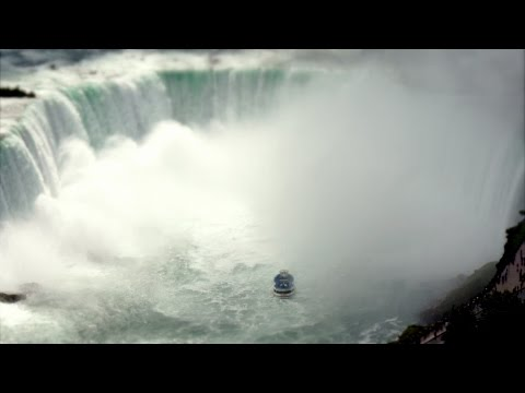 See this magical tilt-shift, time-lapse, 4K view of Niagara Falls