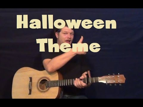 halloween theme movie theme guitar solo lesson how to play lead guitar tab fingerstyle - Halloween Theme Song Guitar