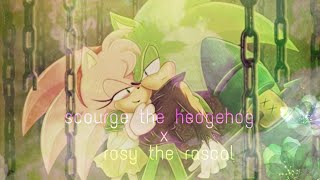 Scourge The Hedgehog X Rosy The Rascal