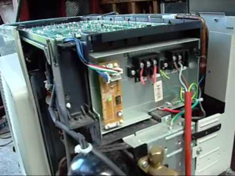 coil split wiring diagram lincoln sa 200 daikin inverter drive reverse cycle condensing unit - youtube