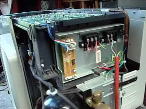 Daikin Inverter Drive Reverse Cycle Condensing unit  YouTube