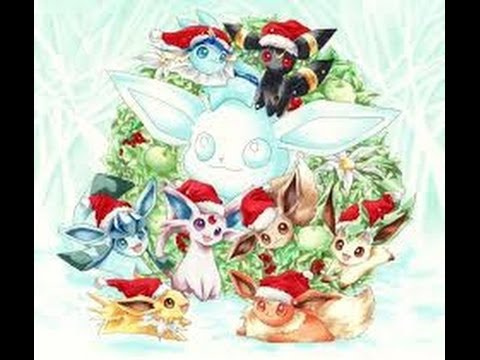 Pokemon x et y la famille voli et un joyeux no l a tous youtube - Famille evoli pokemon ...