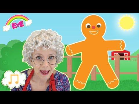 Gingerbread man song
