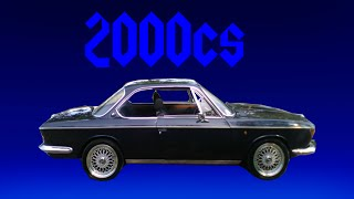 testkørsel af BMW 2000CS årgang 1968
