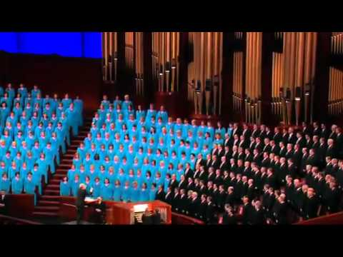 Mormon Tabernacle Choir sings God Be With You Till We Meet Again