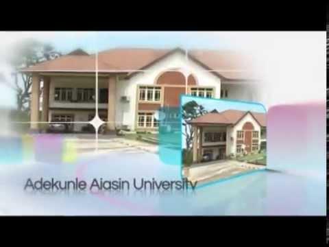 A SHORT DOCUMENTARY ON ADEKUNLE AJASIN UNIVERSITY,AKUNGBA AKOKO,ONDO STATE,NIGERIA