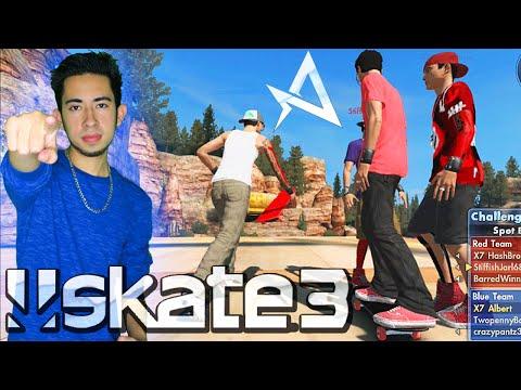 Skate 3 - SPOT BATTLE WITH FANS