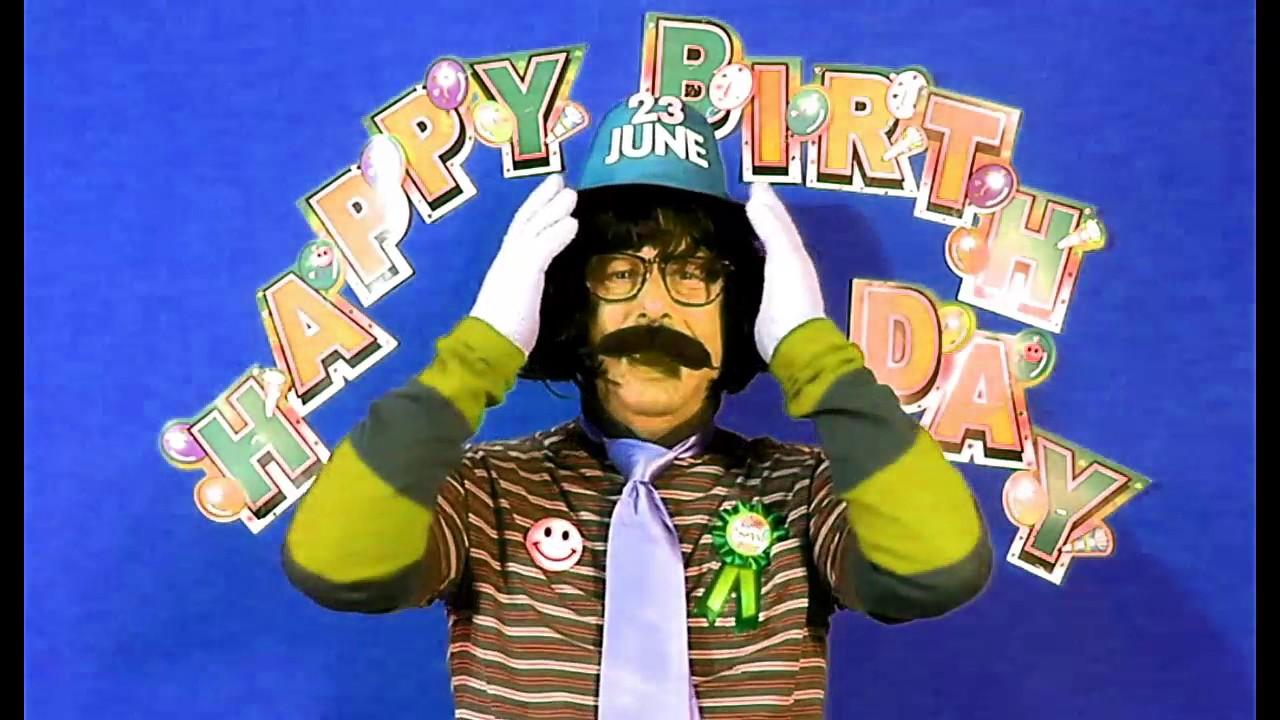 HAPPY BIRTHDAY Song 23rd JUNE. (fast Version)