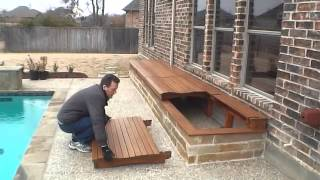 Outside Storage Box For Pool Deck