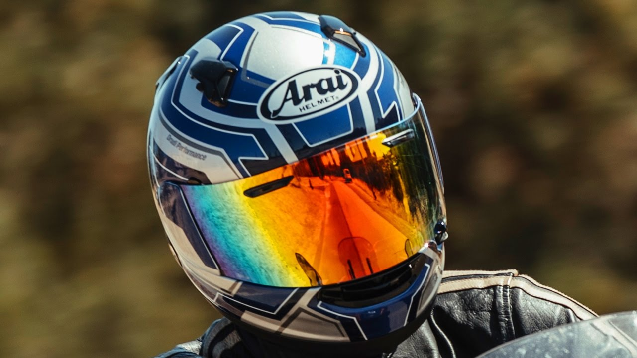 Arai Helmets / MotoGeo Gear Review - YouTube