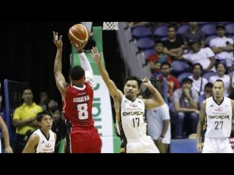 Manny Pacquiao Can Hoops Game Highlights As A Professional Basketball Player PBA!!!