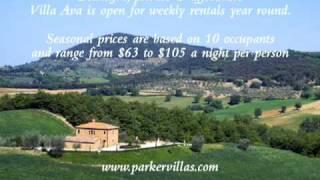 Villa Ava in Tuscany