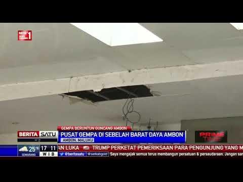 BMKG Catat Ambon Diguncang Gempa Sebanyak 88 Kali