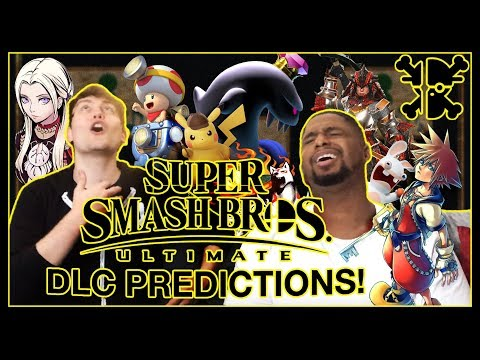 SUPER SMASH BROS ULTIMATE DLC PREDICTIONS  RogersBase and MightyKeef Discussion