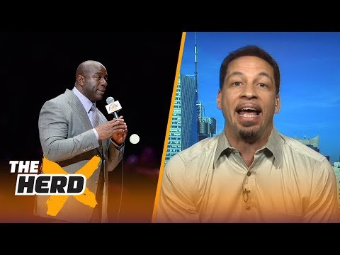 Chris Broussard on the Lakers $500K tampering fine, and LeBron possibly going to Spurs   THE HERD