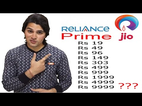 [Hindi-हिन्दी] Reliance Jio Prime : No, It's Not Free or Unlimited || Watch Full Details of Plans