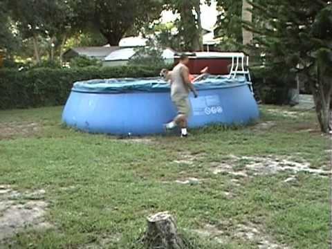How To Drain A Pool Fast Easy Fun Way Doovi