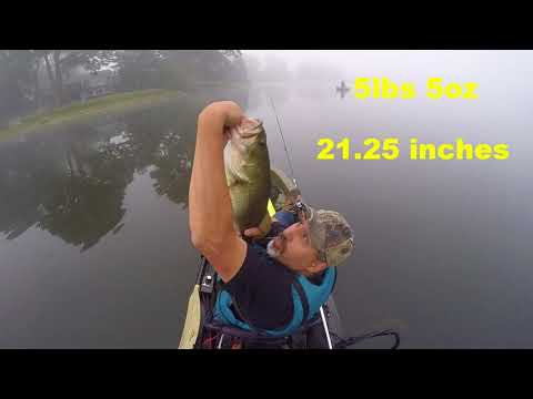 5lb 5oz Largemouth Bass Caught In MA