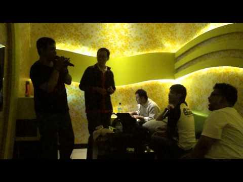 my awful song skill... do karaoke First Love and Ari no mama de
