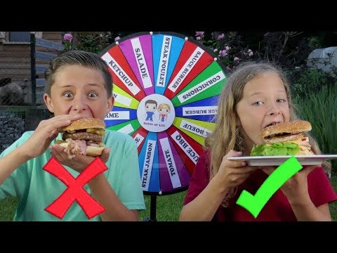 MYSTERY WHEEL OF BURGER CHALLENGE