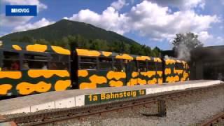Schneebergbahn - Im Takt der Natur den Berg hinauf ins Paradies der Blicke