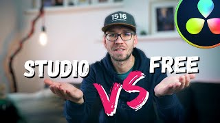 Was DU wissen MUSST! - Davinci Resolve 16 Studio oder kostenlose Version?