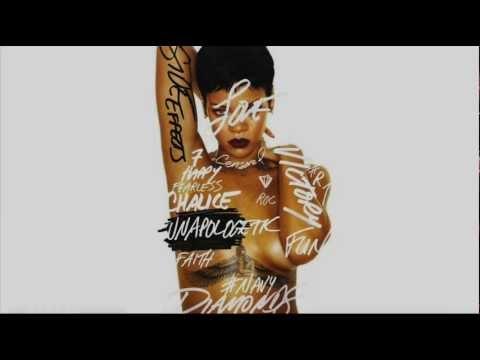 Stay (Instrumental) - Rihanna ft. mikky ekko + Lyrics