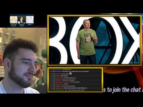 E3 - Microsoft Live Reactions and Reactions