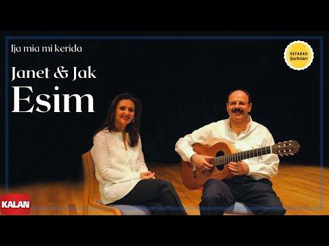 Janet & Jak Esim - Ija Mia Mi Kerida [ Antik Bir Hüzün © 2005 Kalan Müzik ]