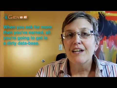 Marketing Automation Minute Asking For Lead Information