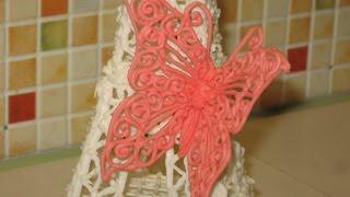 Как изготовить бабочку из айсинга