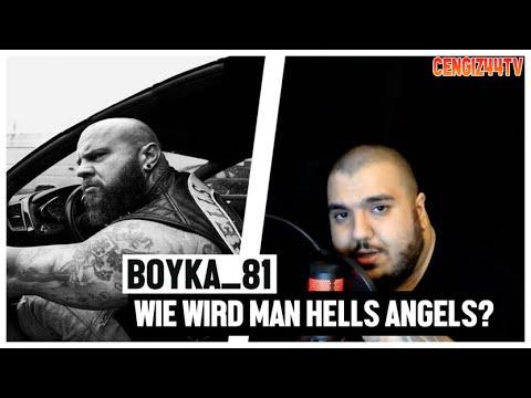 Cengiz44TV   Boyka_81 Wie werde ich Hells Angel   Fahren im Pack mit 160km/h ?