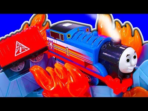 Thomas Tank Trackmaster Fiery Rescue Set Dynamite Factory Shed 17 Fix
