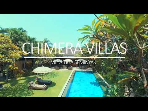 Villa tiga @chimera villas bali