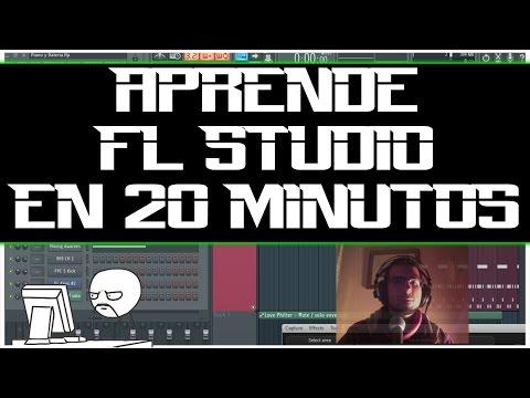 TUTORIAL | FL Studio | Cómo usar FL Studio 12 en 20 MINUTOS