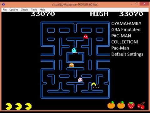 GBA Pacman Collection: Pacman 103990pts