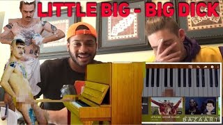 LITTLE BIG - BIG DICK (RUSSIAN RAVE REACTION) WARNING 18+ GRAPHIC