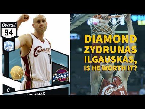 DIAMOND Zydrunas Ilgauskas,  A GIANT MAN WITH A GIANT GAME, BIG ZZZZZ