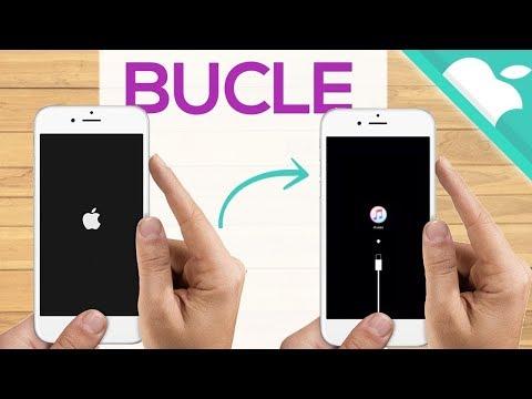 SALIR BUCLE INFINITO manzana en iPhone