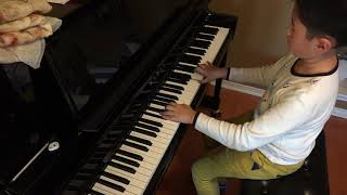Invention No.8 in F Major  J.S.Bach