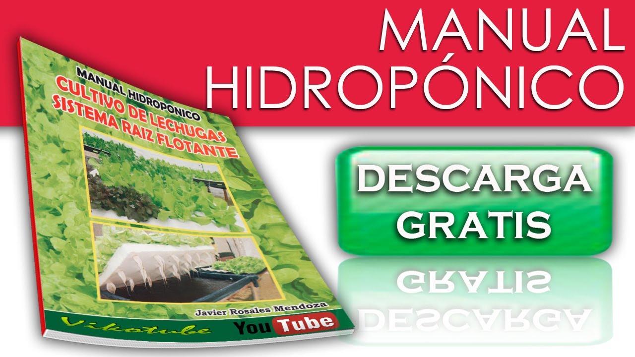 Curso de hidropon a descargable y gratuito youtube for Manual de muebleria pdf gratis