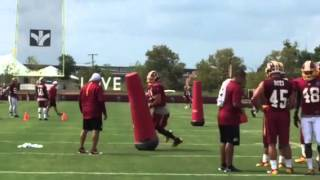 Ryan Kerrigan #91 Washington Redskins Richmond Va Rva Training Camp