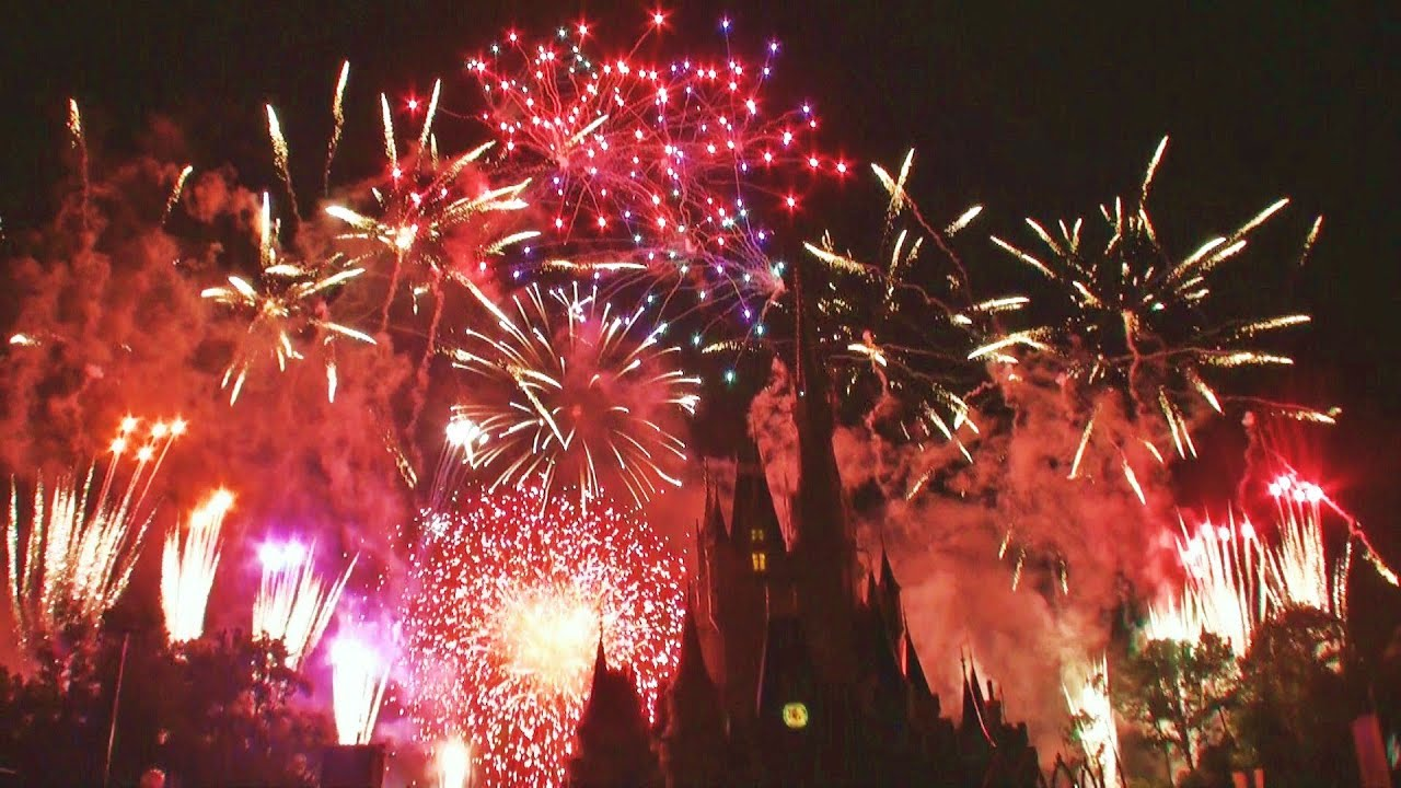 Wishes Fireworks Show At Walt Disney Worlds Magic Kingdom