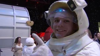 Conor Daly & Alexander Rossi Visit Space Camp
