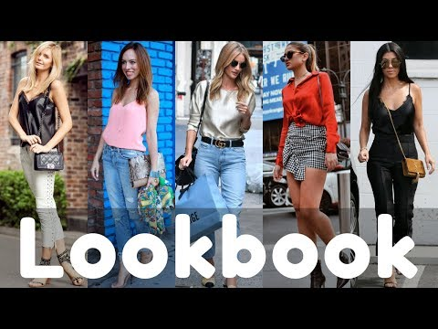 Trendy Silk Top Outfits Ideas Trend 2019 Lookbook | Silk Shirts Style
