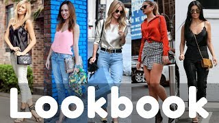 Trendy Silk Top Outfits Ideas Trend 2018 Lookbook | Silk Shirts Style