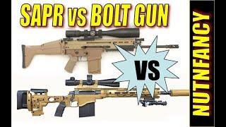 Bolt Gun vs SAPR: Which is best? -Nutnfancy & TacticalDoodle