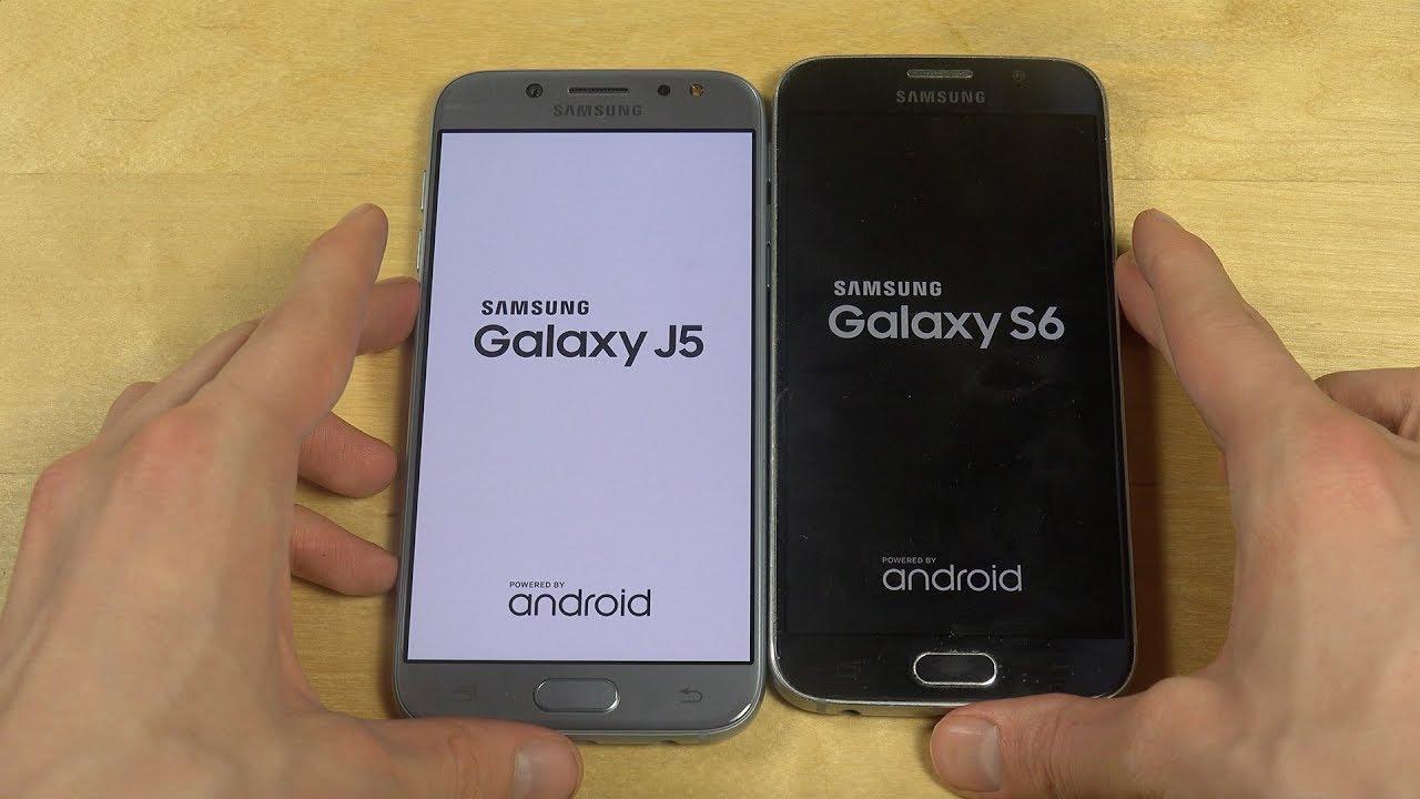 Samsung Galaxy J5 2017 Vs Samsung Galaxy S6 Which Is Faster