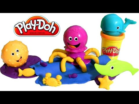 Play Doh Undersea Ocean Tools Playset - Pâte à modeler Outil